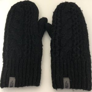 The North Face Cable Knit Mitt Size S-M Womens